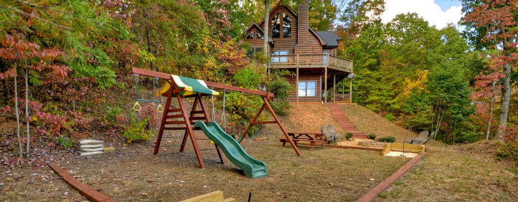 Kids will love the playground area!