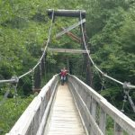 Swinging Bridge Blue Ridge